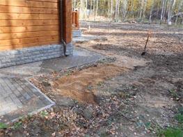 Дренаж вокруг участка своими руками на глинистых почвах 57